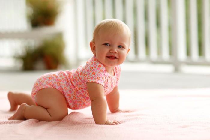 carrera de gateo para bebes