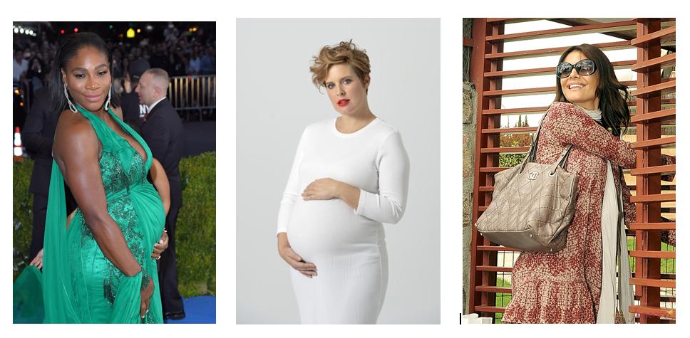 Las famosas lucen su embarazo en el verano