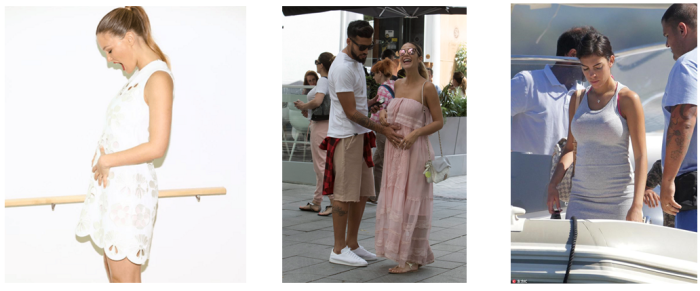 famosas embarazadas en verano
