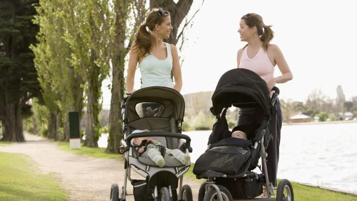 pasear con el bebé