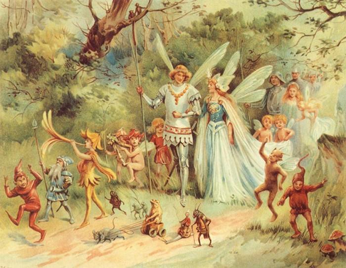 Hadas y leyendas