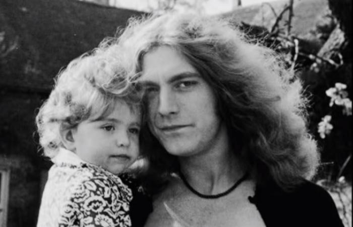 Robert Plant e hijo