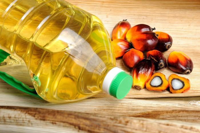 aceite de palma y niños