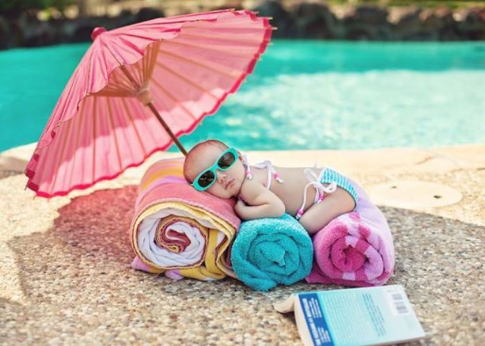 bebé y verano