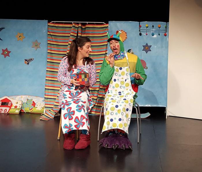 teatro: el bebé extraterrestre