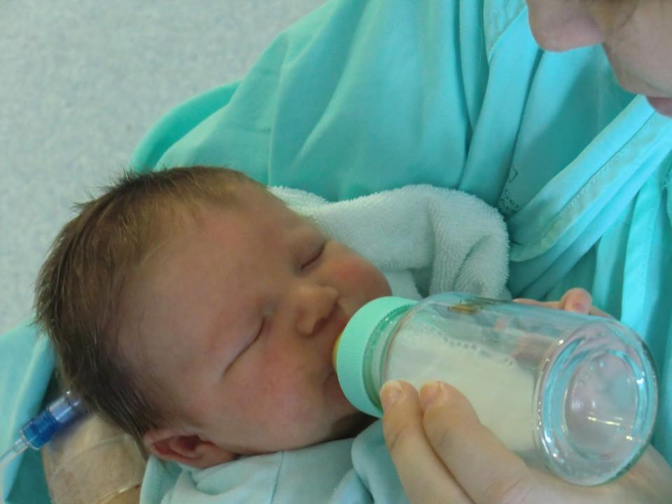Calmar a un bebé que llora es posible