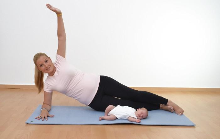 ejercicio tras el parto