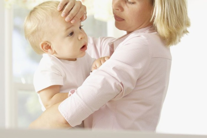 gripe en el bebé