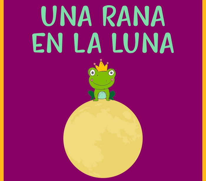 Una rana en la luna