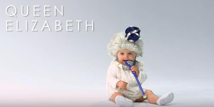 Bebé de Reina Isabel