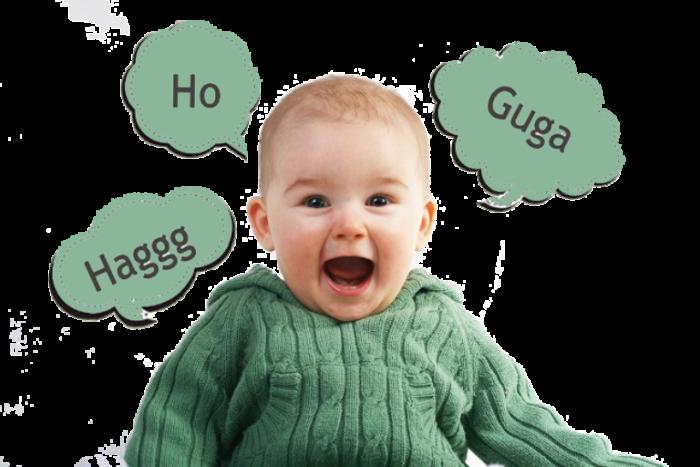 palabras del bebé
