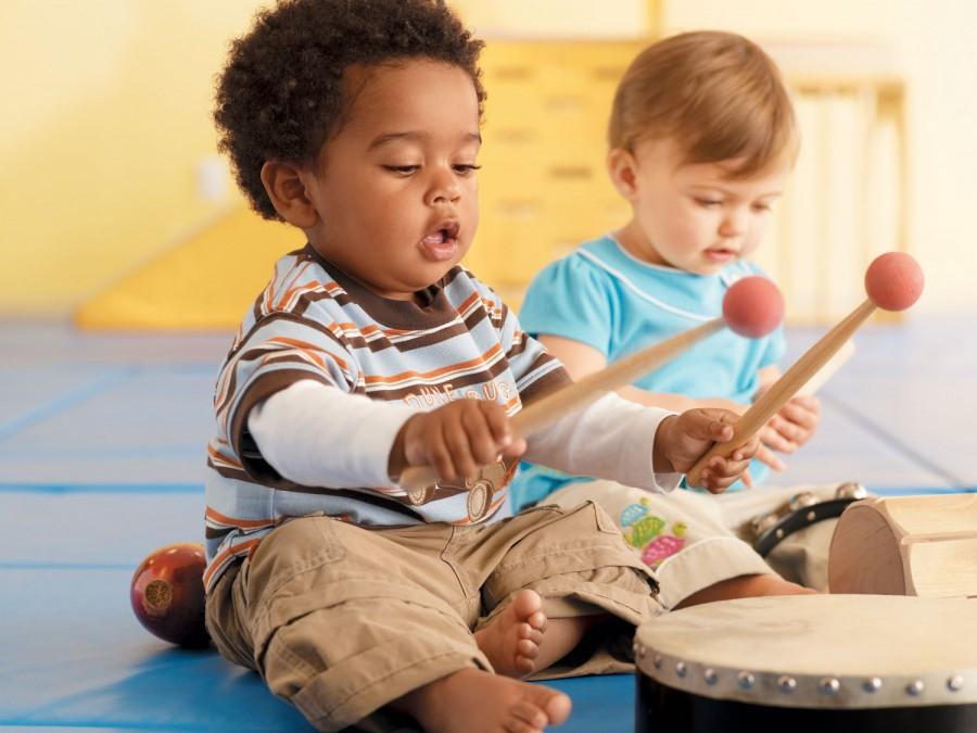Talleres de estimulación musical para bebés en Madrid
