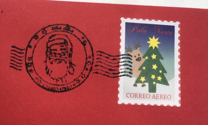 Cartas encantadas Papá Noel