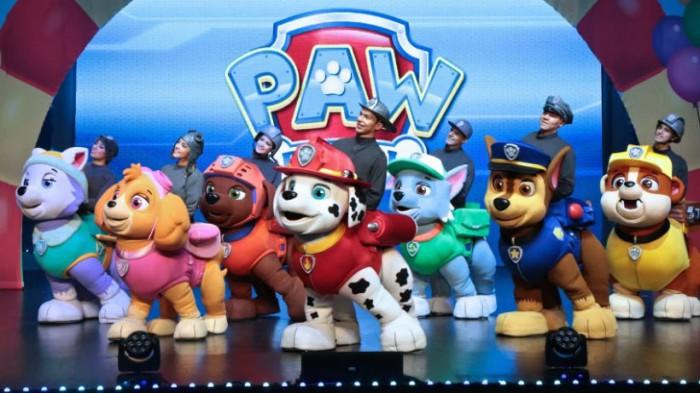 La patrulla canina en vivo al rescate