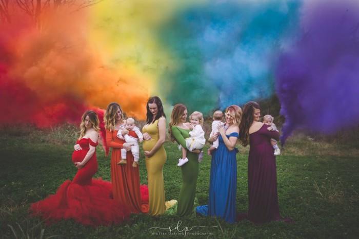 Sutter Darling bebés arco iris