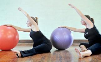 Pilates en el embarazo, menos riesgo de cesárea