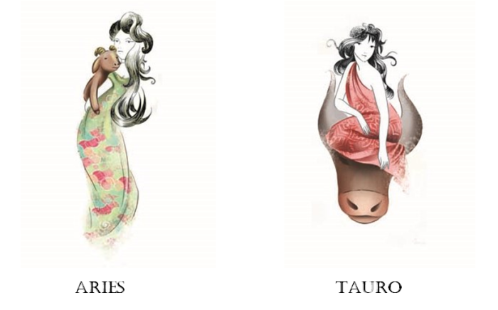 Aries y Tauro