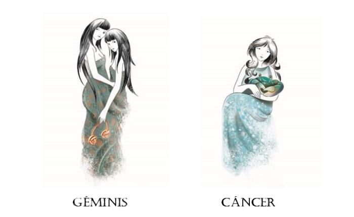 Geminis y Cancer