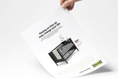 Haz pis en la publicidad de Ikea para saber si estás embarazada