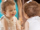 Beneficios de jugar con el bebé ante el espejo