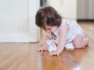 Beneficios del juego en el suelo para el bebé